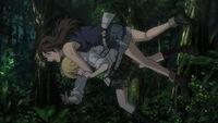 Himiko flips Hidemi