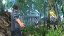 Asobimo's Btooom Online game app Ryouta and Himiko