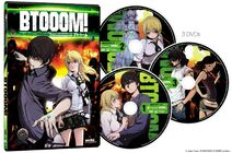 Btooom DVD Set by Sentai Filmwork