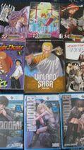 Takashichea's Manga Collection with Btooom