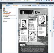 Amazon Kindle Btooom Vol 4 Tsuneaki Iida