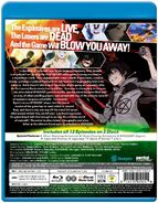 Btooom Blu-Ray Set by Sentai Filmwork Back Cover
