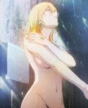 Himiko half body shot shower scene