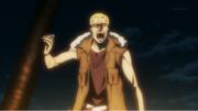 Yoshiaki threaten Sakamoto