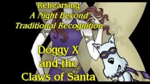 "Rehearsing ""A Night Beyond Traditional Recognition"" - Doggy X & The Claws of Santa"