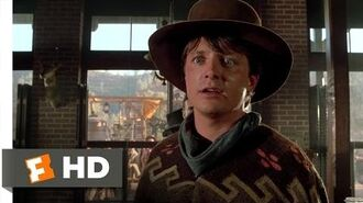 Back to the Future Part III (6-10) Movie CLIP - Ain't You Got the Guts? (1990) HD