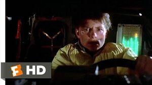 Back to the Future (3-10) Movie CLIP - Back in Time (1985) HD