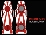 Rising Sun hoverboard