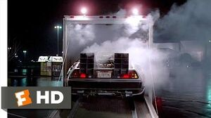 Back to the Future (1-10) Movie CLIP - The DeLorean (1985) HD