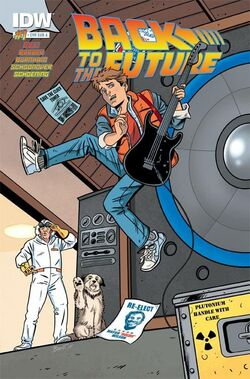 BTTF IDW issue 1 subscriber cover