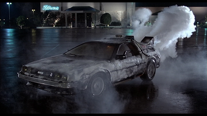 Back To The Future First Time Travel Scene