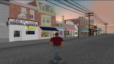 GTA BTTF Mod 0.2f 1955 Hill Valley Courthouse Square version 2 - Preview