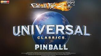 Universal Classics Pinball VR Trailer – Back to the Future! E.T.! Jaws!