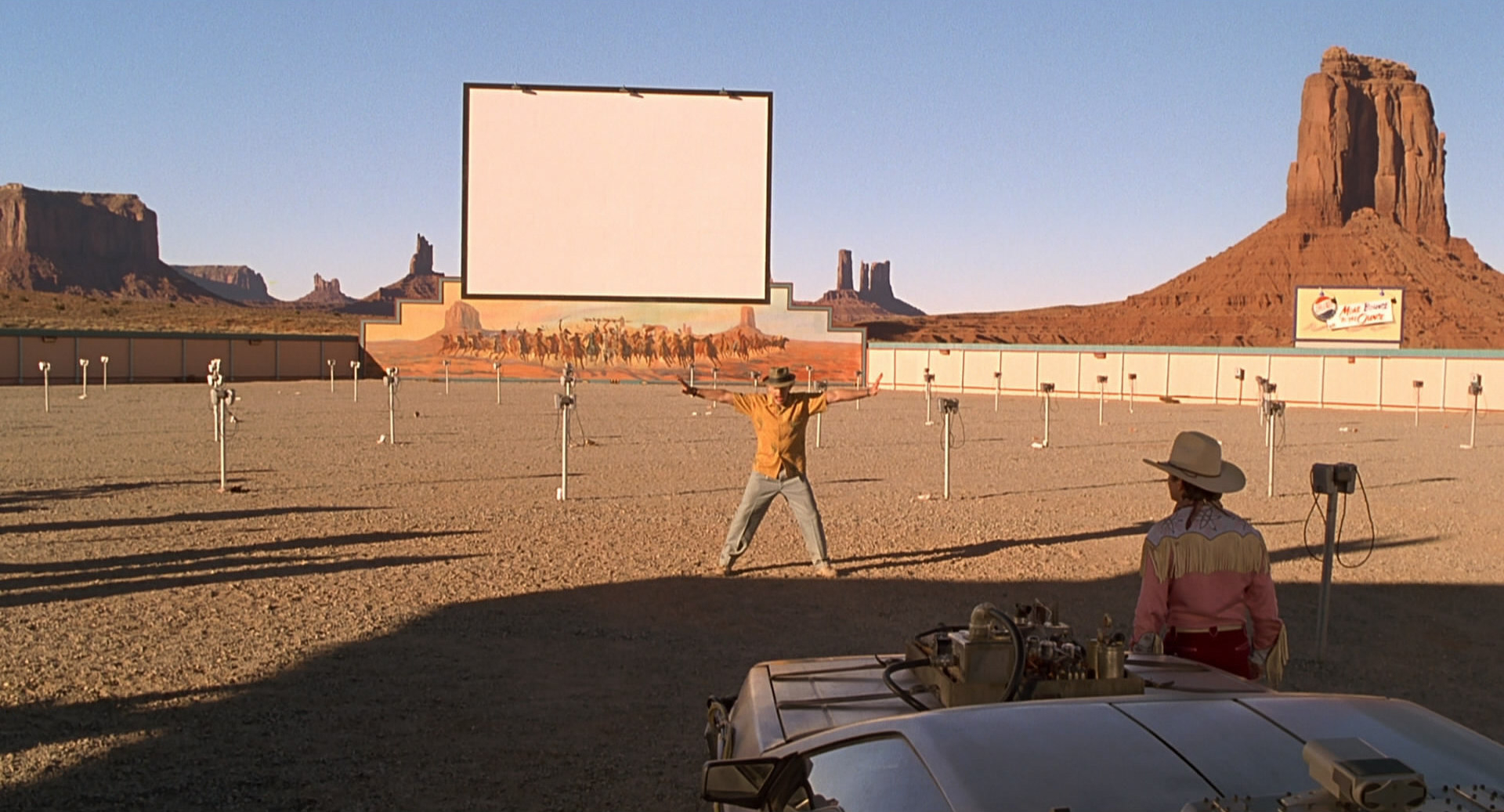 Image result for back to the future drive in