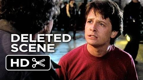 Back to the Future Part II Deleted Scene - Marty Meets Dave (1989) - Michael J. Fox Movie HD