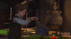 Marty pumping cauldron