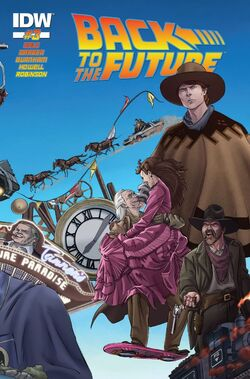 BTTF IDW issue 3 cover