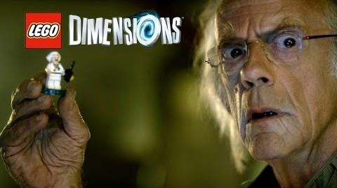 LEGO Dimensions Christopher Lloyd Trailer