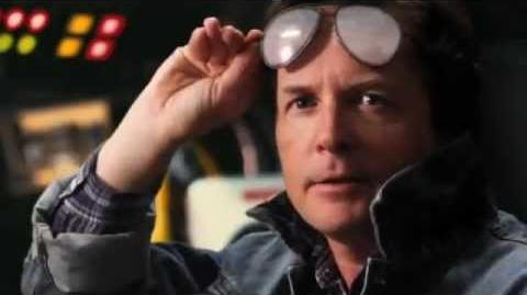 "Back to the future ""Michael J. Fox 2010"""