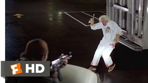 Back to the Future (2 10) Movie CLIP - The Libyans Find Doc Brown (1985) HD