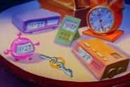 The DeLorean keys in Gone Fishin'