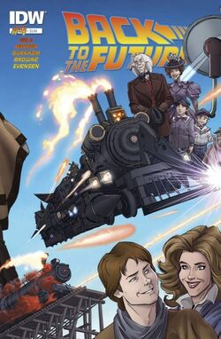 BTTF IDW issue 4 cover
