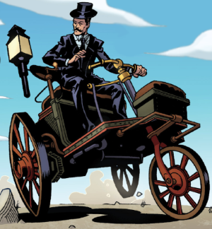 Steam tricycle