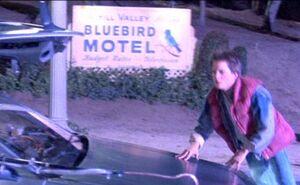 Bluebird Motel Sign