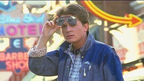 "Back To The Future ""Michael J. Fox"" 30th Anniversary Blu-ray DVD Bonus Feature"
