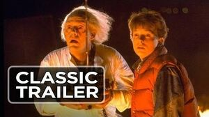 Back To The Future (1985) Theatrical Trailer - Michael J