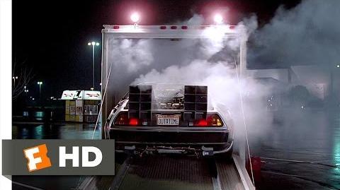 Back to the Future (1 10) Movie CLIP - The DeLorean (1985) HD