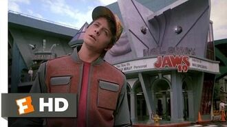 Back to the Future Part II (2-12) Movie CLIP - Hill Valley, 2015 (1989) HD