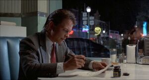Marty Writing Letter To Doc
