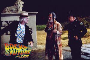 BTTF2- Doc, Peabody & Policeman
