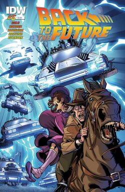 BTTF IDW issue 5 cover
