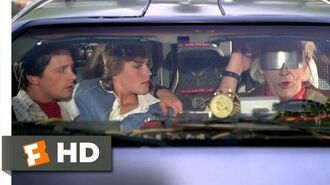 Back to the Future Part II (1-12) Movie CLIP - We Don't Need Roads (1989) HD