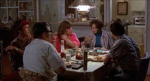 McFly family dinner
