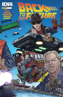 BTTF IDW issue 2 cover