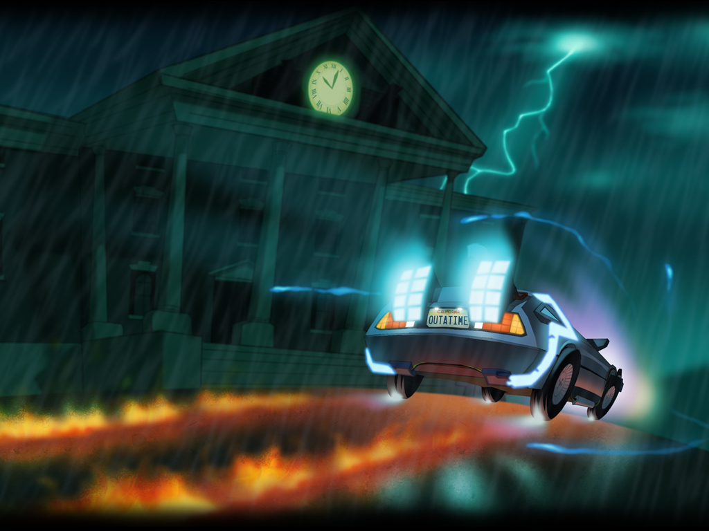 Back to the Future: The Game - Episode 5, Outatime (Video ...