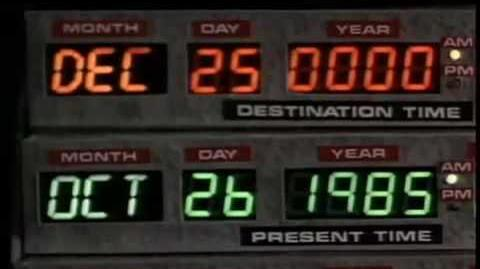 BTTF - Back to the Future The Ride - Preshow 1 of 3 HQ