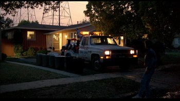 The McFly residence in 1985, before Marty's trip to 1955 (better quality)