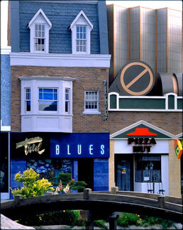 True Blues and Pizza Hut restaurant