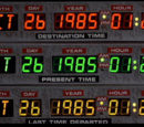 Back to the Future extended timeline