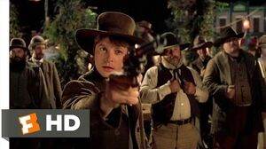 Back to the Future Part III (4-10) Movie CLIP - Marty the Marksman (1990) HD
