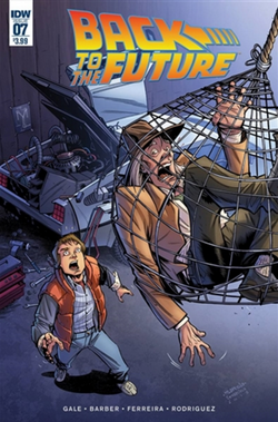 Back to the Future 7 cover