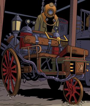 Steam time car