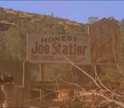 Honest Joe Statler-Sign