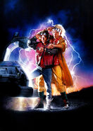 Back to the Future Part II Textless Poster