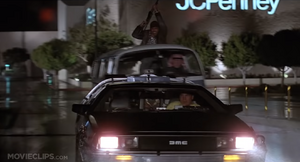 Eric Stoltz In DeLorean