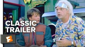 Back to the Future Part II Official Trailer 1 - Michael J